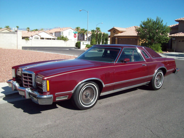 1979 thunderbird heritage classic ford thunderbird 1979 for sale. Black Bedroom Furniture Sets. Home Design Ideas