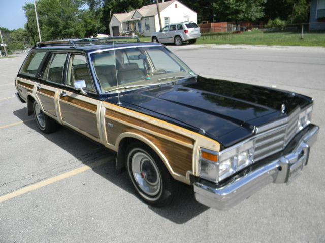 Town Amp Country Lebaron Station Wagon Survivor Low Original Miles Barn Find on 1979 Chrysler Town And Country