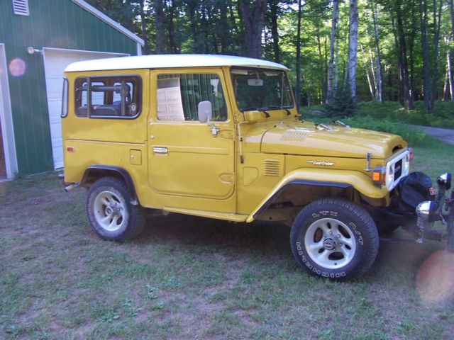 1979 toyota fj40 land cruiser one owner 28 000 original miles excellent cond classic toyota. Black Bedroom Furniture Sets. Home Design Ideas