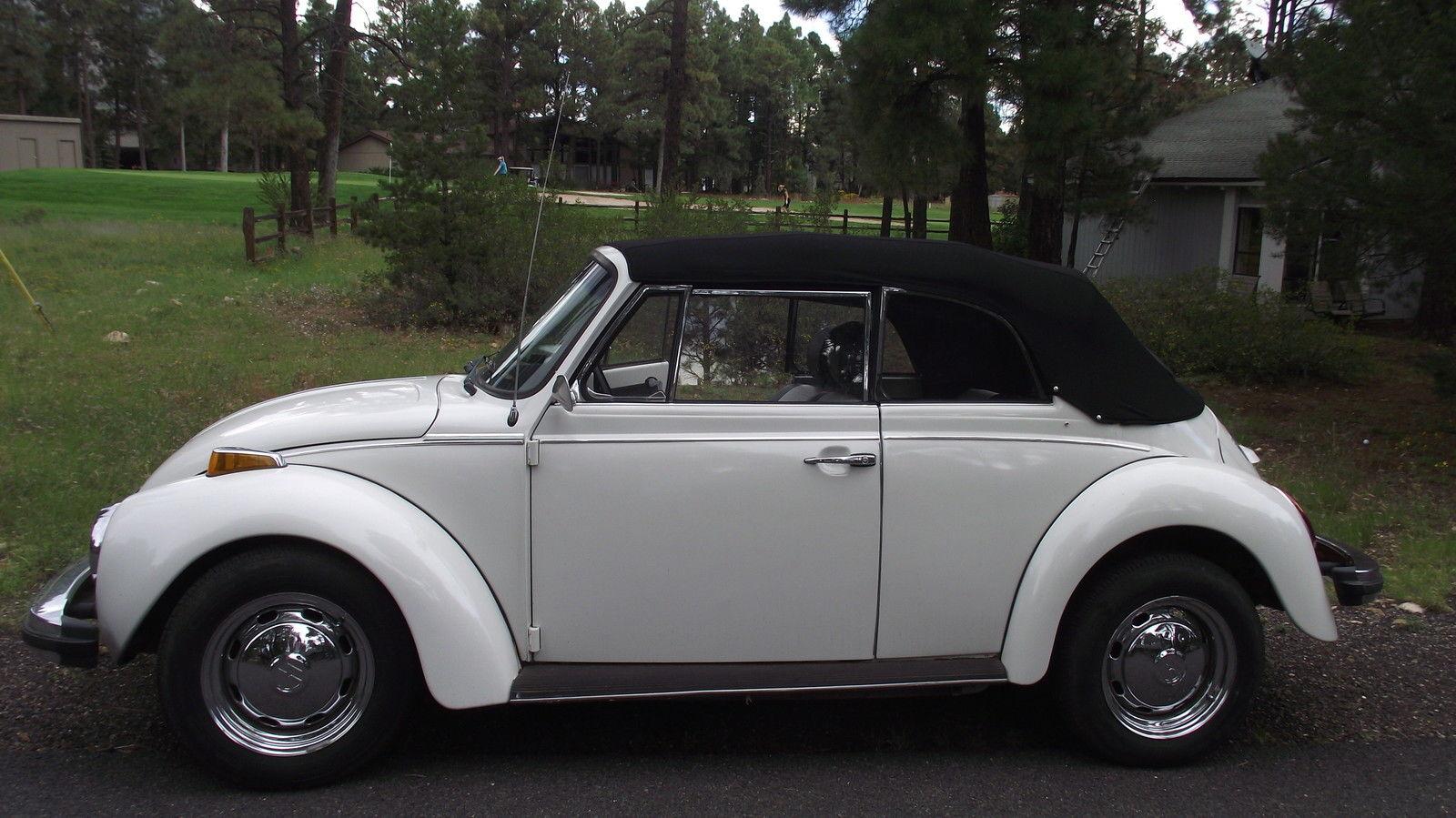 1979 Volkswagen Super Beetle Karmann Edition Convertible