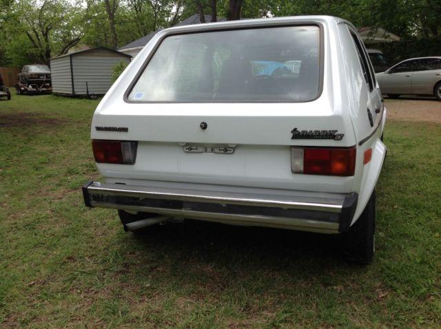 vw rabbit  mk golf diesel  door sedan  owner  miles  speed ac classic