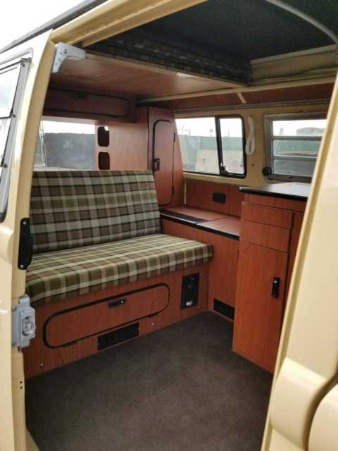 1979 Vw Westfalia Camper Mexico Beige California Bus