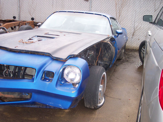 1980-1981 CAMARO-RESTORATION/PARTS/STARTER/PROJECT CAR-VERY
