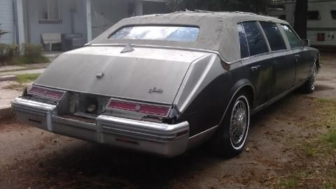 1980 Cadillac Seville Busleback Limo Classic Cadillac Other 1980