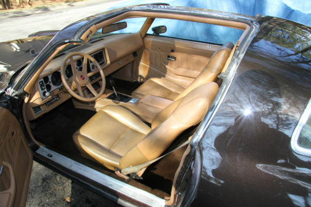1980 camaro berlinetta t top car chocolate brown tan interior classic chevrolet camaro 1980. Black Bedroom Furniture Sets. Home Design Ideas