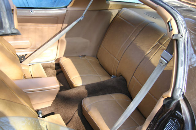 1980 camaro berlinetta t top car chocolate brown tan interior classic chevrolet camaro 1980. Black Bedroom Furniture Sets. Home Design Ideas