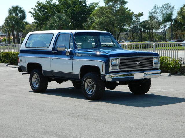 1980 Chevrolet Blazer K5 4x4 Blazer Unbelievable