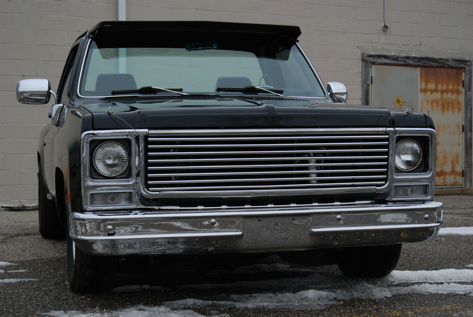 1980 Chevrolet C10 SHORT BED STEP SIDE DELUXE CUSTOM AIR RIDE LOWERED - Classic Chevrolet C-10