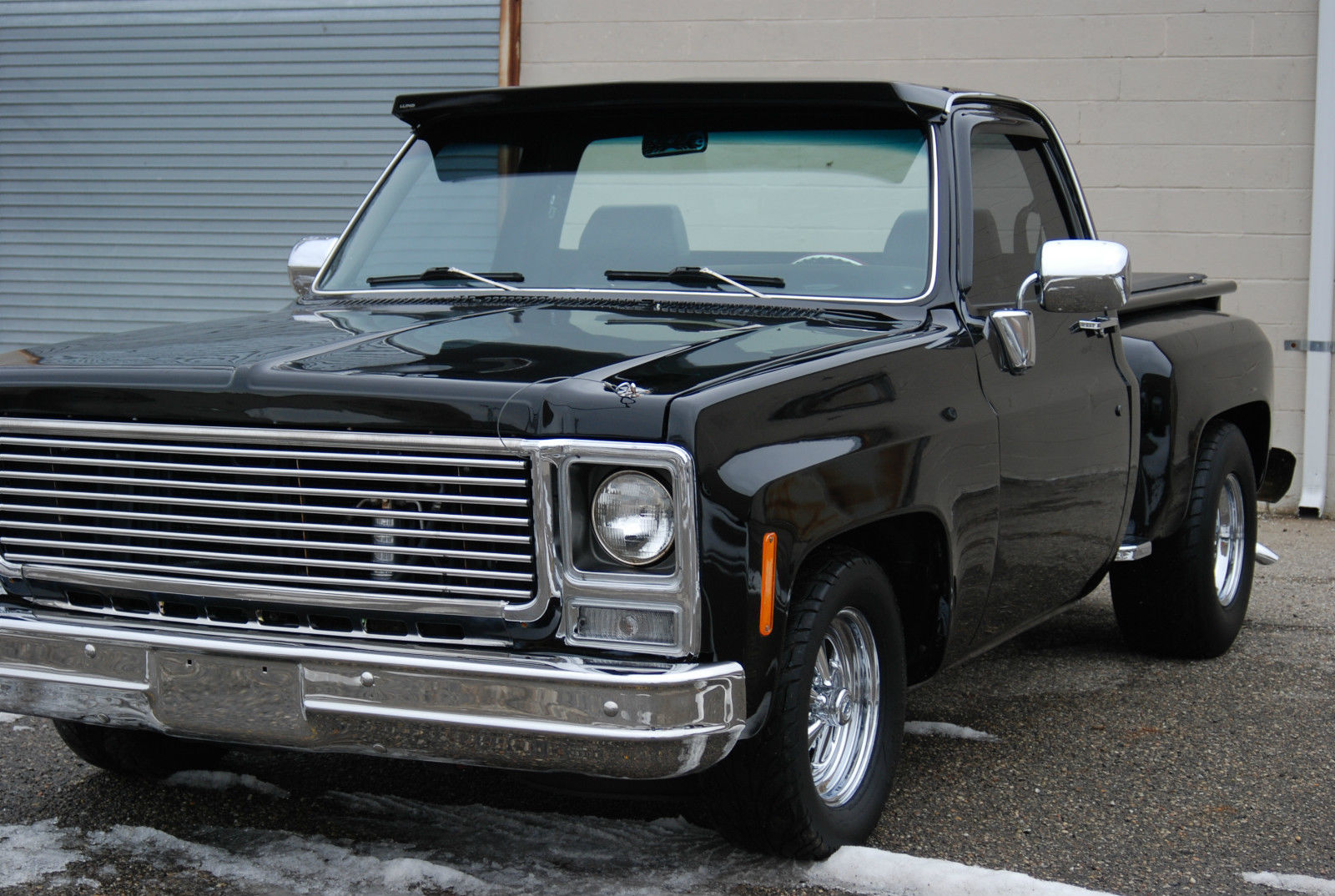 1980 Chevrolet C10 Short Bed Step Side Deluxe Custom Air Ride Lowered Classic Chevrolet C 10