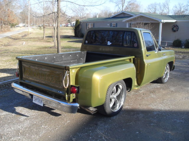 1980 chevrolet c10 stepside shop truck classic chevrolet c 10 1980 for sale. Black Bedroom Furniture Sets. Home Design Ideas