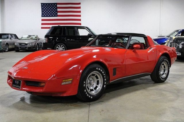 1980 chevrolet corvette 67459 miles red coupe 350ci v8 3 speed automatic classic chevrolet. Black Bedroom Furniture Sets. Home Design Ideas