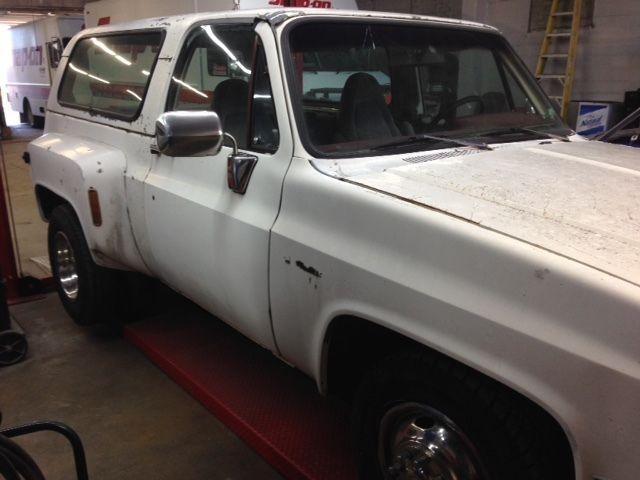 Cars For Sale In Oklahoma >> 1980 Chevrolet K5 Blazer Dually Project 73-87 73-91 hotrod rat rod 1 ton - Classic Chevrolet ...