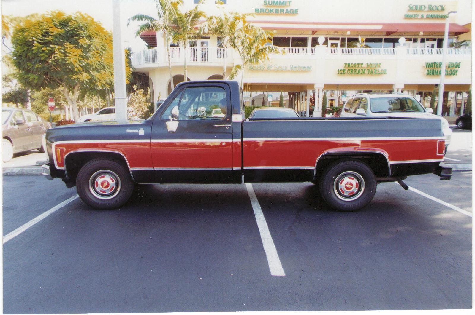 1980 chevrolet silverado c 10 long bed pick up truck classic chevrolet c 10 1980 for sale. Black Bedroom Furniture Sets. Home Design Ideas