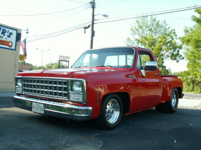 1980 chevrolet stepside pickup truck classic chevrolet c 10 1980 for sale. Black Bedroom Furniture Sets. Home Design Ideas