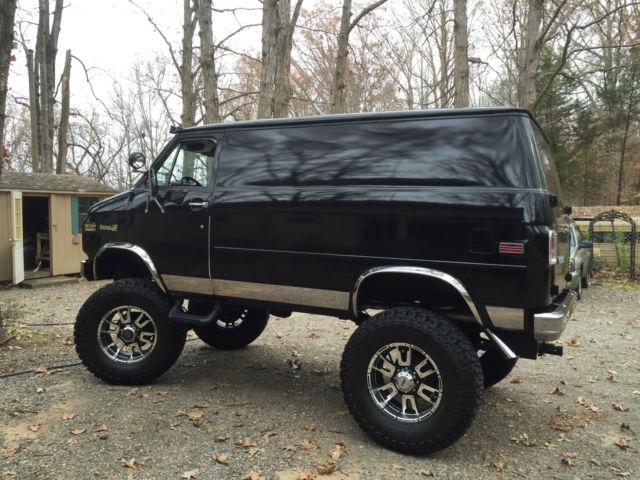 715f4eb944 1980 Chevy 4x4 Pathfinder Shorty Van Custom Hot Rat Rod Harley Hippie