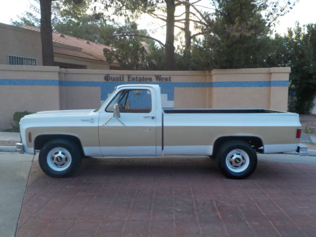 1980 chevy c20 silverado 3 4 ton 97k original miles a c truck 1 owner no reserve classic. Black Bedroom Furniture Sets. Home Design Ideas