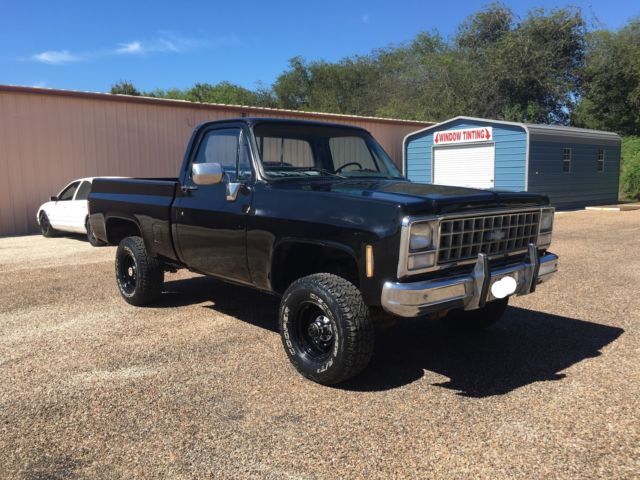 1980 chevy truck 4x4 no reserve classic chevrolet c k pickup 1500 1980 for sale. Black Bedroom Furniture Sets. Home Design Ideas
