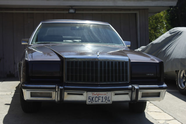 1980 Chrysler New Yorker Fifth Avenue Se Classic