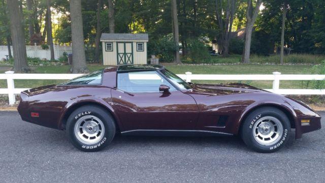 Cars For Sale Under 1000 >> 1980 Corvette. Rare code 76 Dark Claret Metallic - Classic Chevrolet Corvette 1980 for sale