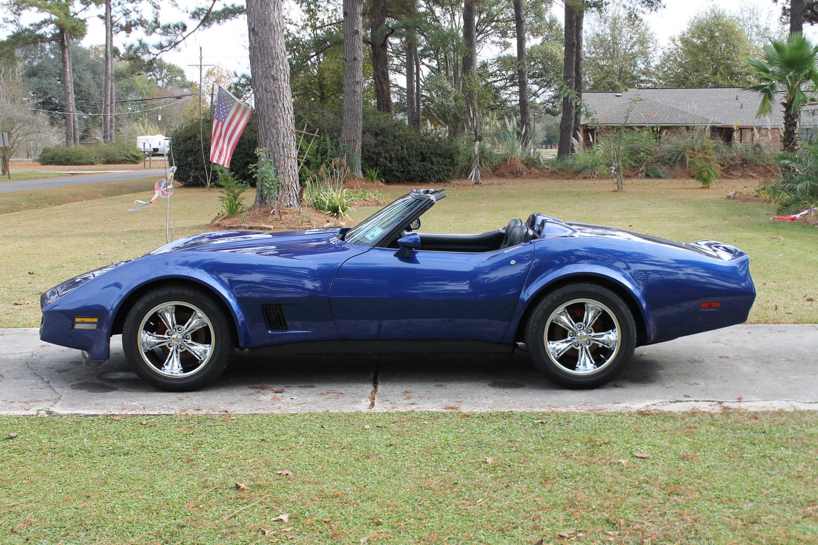 1980 custom corvette convertible one of a kind classic chevrolet corvette 1980 for sale. Black Bedroom Furniture Sets. Home Design Ideas