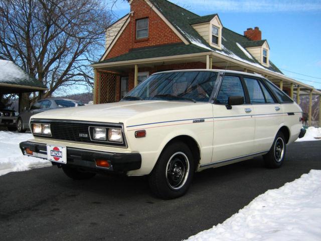 1980 DATSUN 510 A10 5 DOOR HATCHBACK by Nissan ~ RARE ...