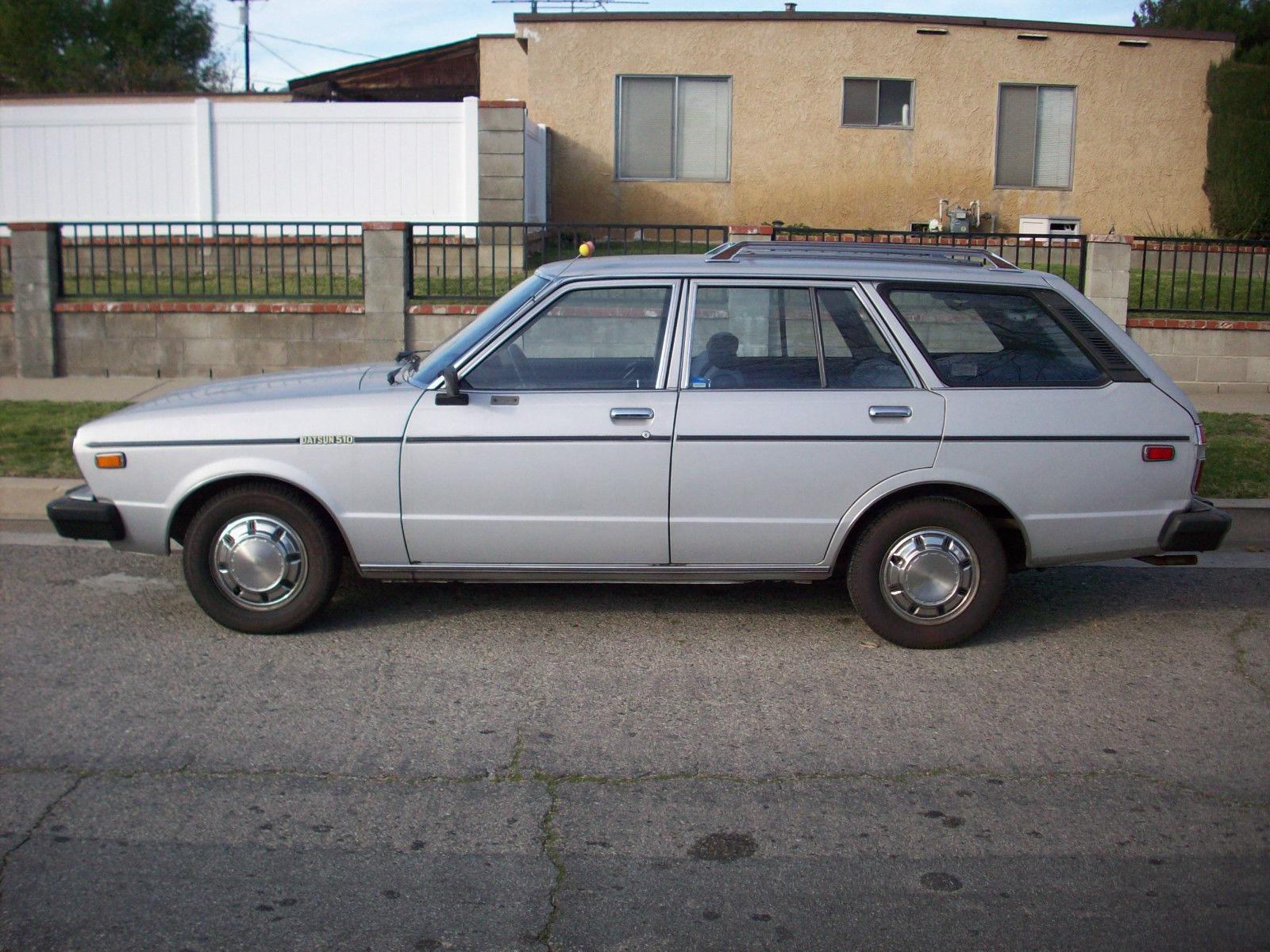 1980 Datsun 510 Wagon All Original 69K Miles Really Nice ...