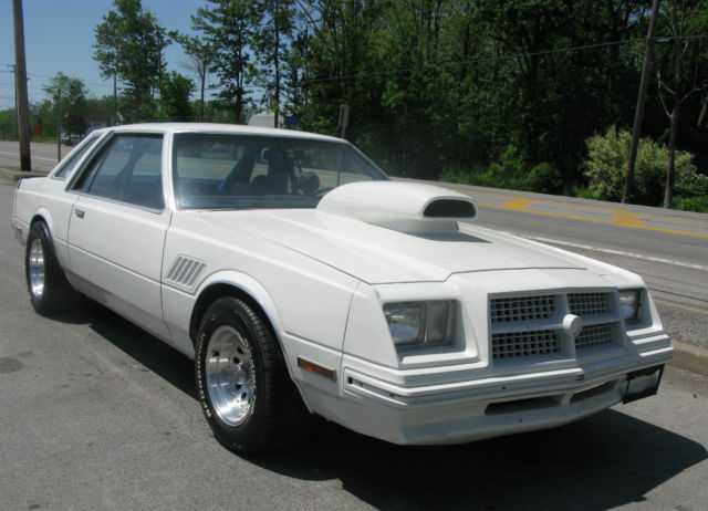 1980 Dodge Mirada, Former Drag car, 8 3/4, Coil-Over ...