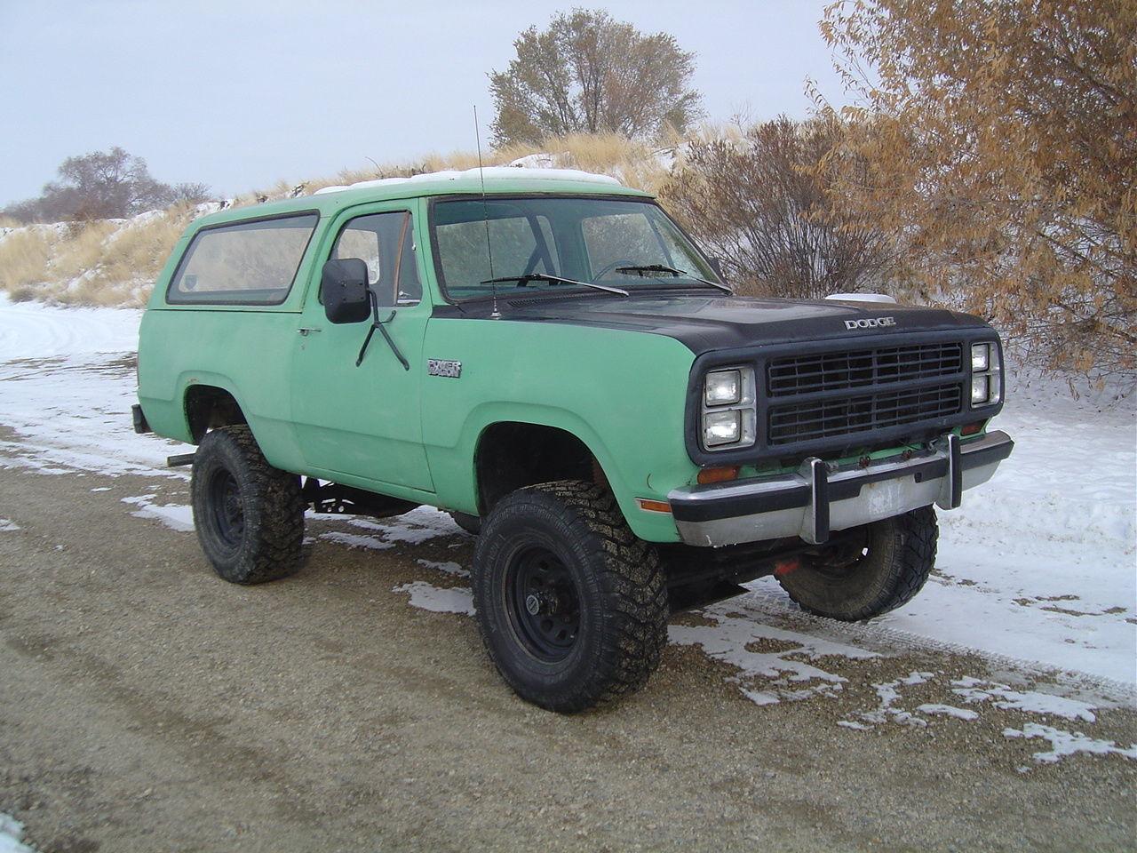 Optima Battery Charger >> 1980 Dodge Ramcharger Convertible HT..Big Block..4spd..Dana60's w/Lockers..Mopar - Classic Dodge ...