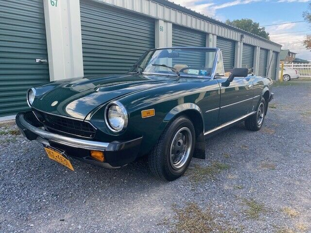 1980 fiat spider 2000 pininfarina classic fiat other 1980 for sale. Black Bedroom Furniture Sets. Home Design Ideas