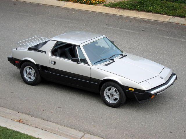 Fiat Bertone For Sale >> 1980 FIAT X19 Bertone California Car Restored Please look Rare condition - Classic Fiat Other ...