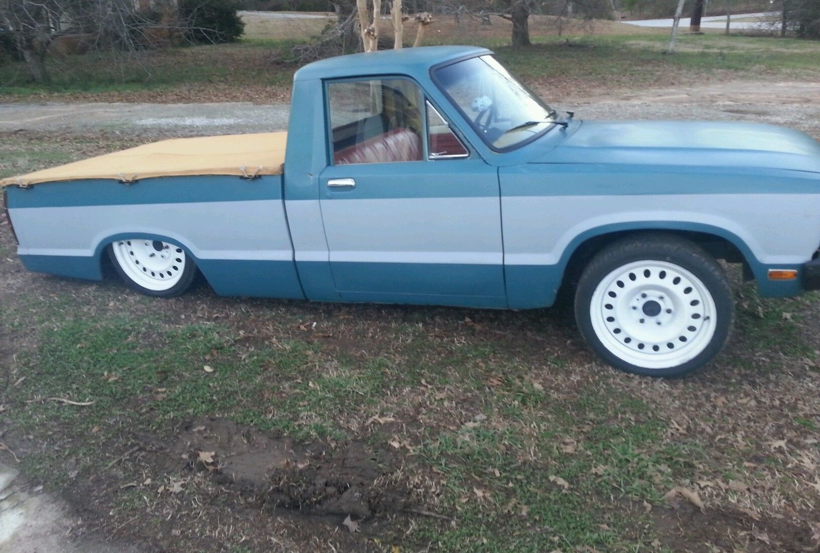 1980 Ford Courier Mini Truck Rat Rod 2 3 Bagged Classic