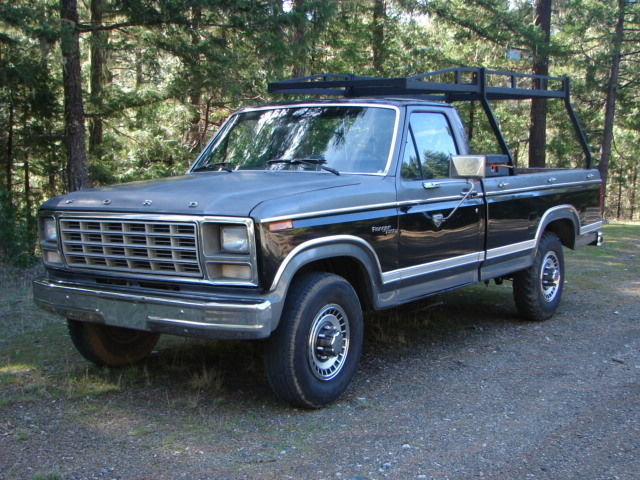 1980 ford ranger xlt f 250 3 4 ton 2wd pickup truck nice classic ford f 250 1980 for sale. Black Bedroom Furniture Sets. Home Design Ideas