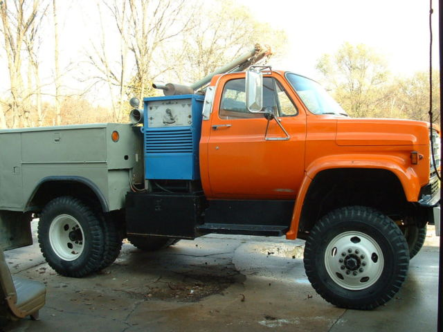 1980 gmc 6000 4x4 welder service utility truck chevy classic gmc other 1980 for sale. Black Bedroom Furniture Sets. Home Design Ideas