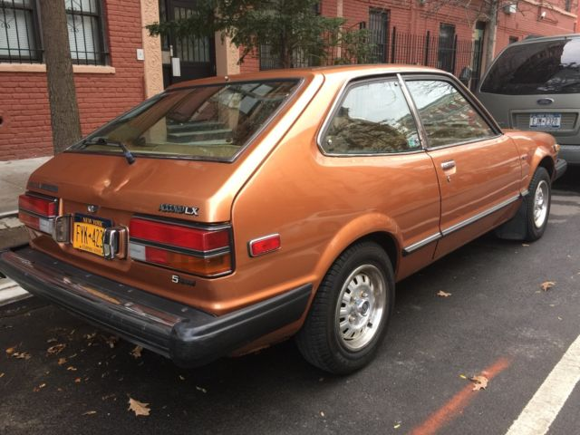 1980 honda accord lx hatchback 5 speed manual classic 1980 honda accord hatchback repair panels 1980 honda accord 2 dr hatchback pictures