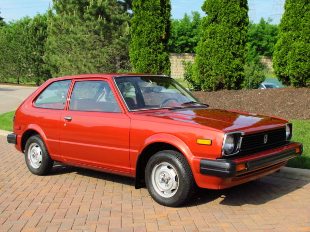 1980 honda civic dx 1500 5 speed 28 000 original miles. Black Bedroom Furniture Sets. Home Design Ideas