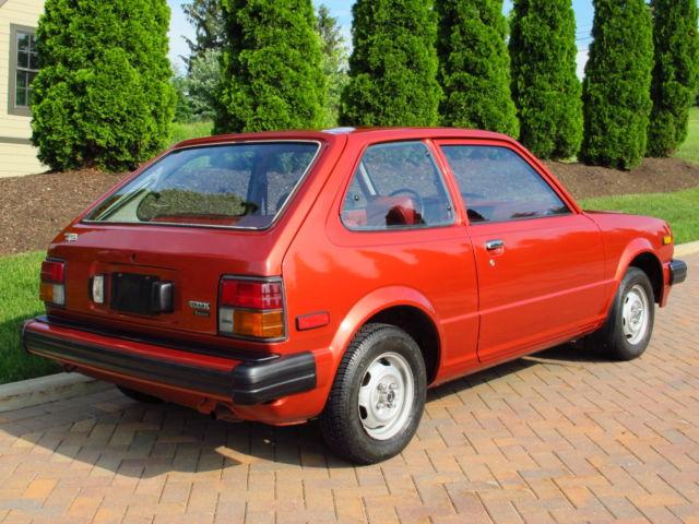 Used Cars Augusta Ga >> 1980 Honda Civic DX 1500 5-speed, 28,000 original miles ...