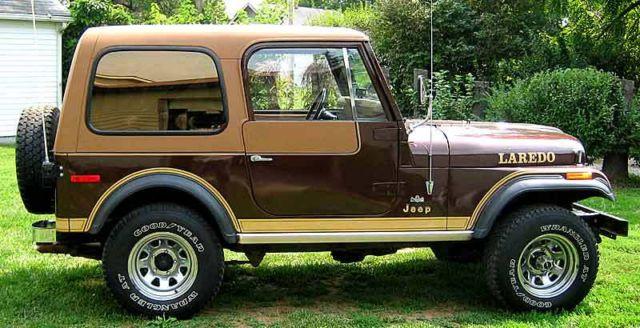 1980 Jeep CJ-7 Laredo Original AMC 304 V-8 4 Speed Clean ...
