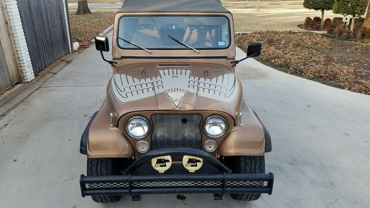 Certified Pre Owned Jeep >> 1980 Jeep CJ7 Golden Eagle - Classic Jeep CJ 1980 for sale