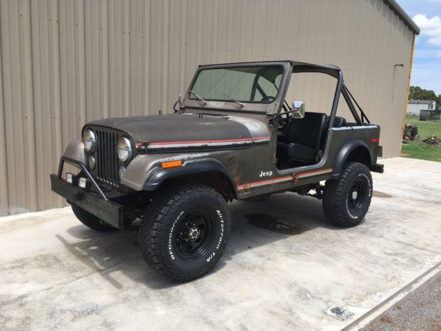 Jeep Cj Parts >> 1980 Jeep Cj7 Lots Of New Parts Lifted Great Patina Classic