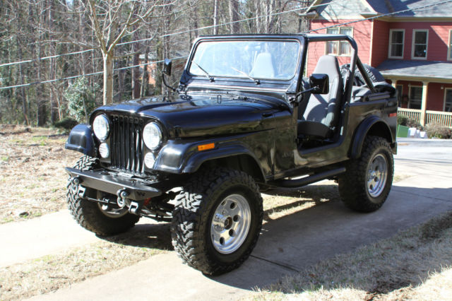 1980 Jeep Cj7  New 4 2 Engine With Clifford Performance 6