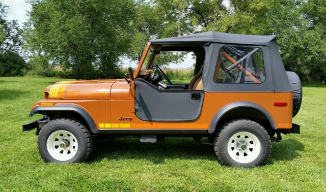 1980 Jeep Cj7 Renegade Low Mileage Original