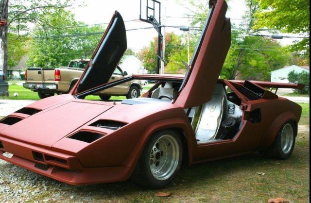 1980 Lamborghini Countach 4000s Classic Lamborghini Countach 1980