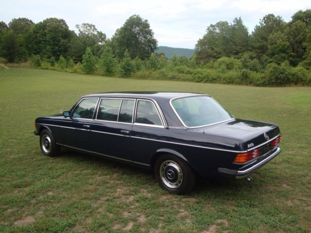1980 mercedes 250 limousine not 600 pullman classic for 1980 mercedes benz for sale