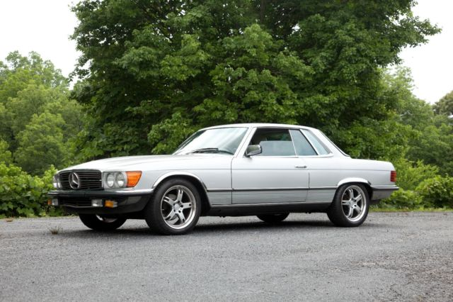 1980 mercedes 280 slc euro coupe 4 speed manual classic mercedes benz sl class 1980 for sale. Black Bedroom Furniture Sets. Home Design Ideas