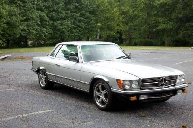 1980 mercedes 280 slc euro coupe 4 speed manual. Black Bedroom Furniture Sets. Home Design Ideas