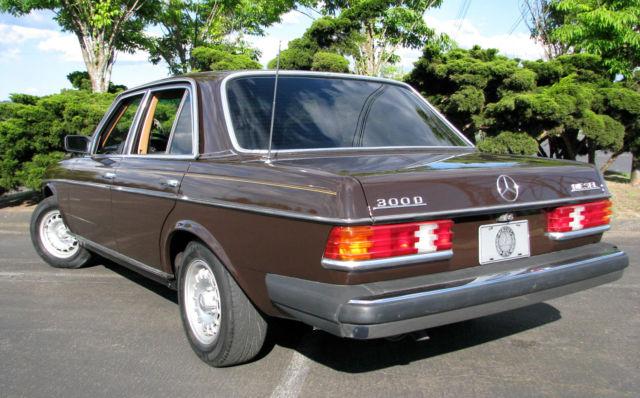 1980 Mercedes 300d Clean Great Driving Diesel Ready