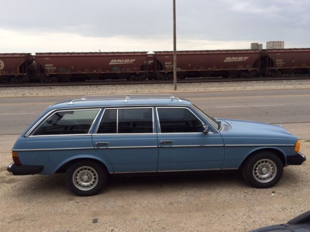 1980 mercedes 300td wagon china blue clean low mileage project classic mercedes benz 300. Black Bedroom Furniture Sets. Home Design Ideas