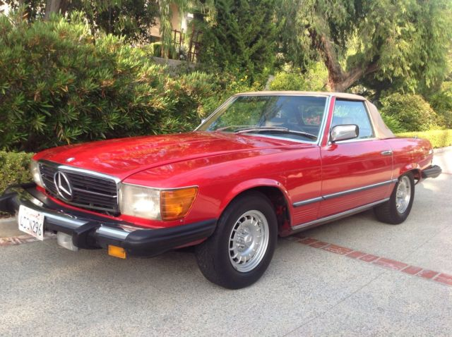 1980 mercedes 450sl southern california time capsule with for Mercedes benz of southern california