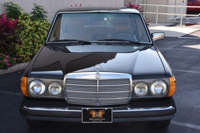1980 mercedes benz 240 d automatic diesel a c 0 schwarz for Mercedes benz 240 diesel