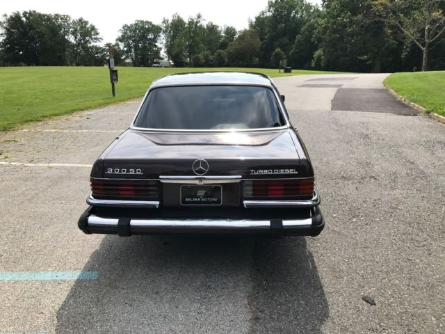 1980 mercedes benz 300sd turbo diesel runs and drives for Mercedes benz turbo diesel